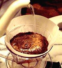 コーヒーの淹れ方 【準備】 蒸らし