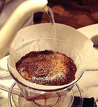 コーヒーの淹れ方 準備【2】 (2)道幅を拡げる