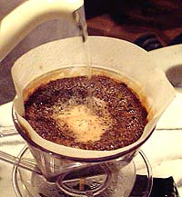 コーヒーの淹れ方 仕上げ【2】 (6)終息へ向かう2